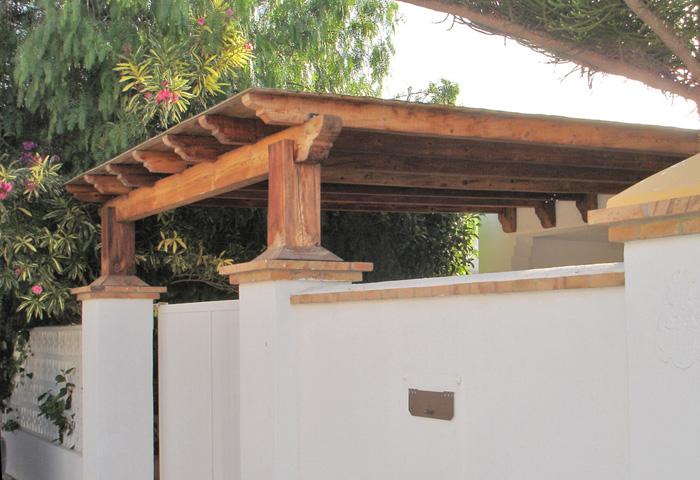 P rgolas de madera en almer a equindagro sl - Modelos de pergolas ...